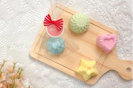 ✨婚禮小物 可愛巧克力小花愛心 手工皂