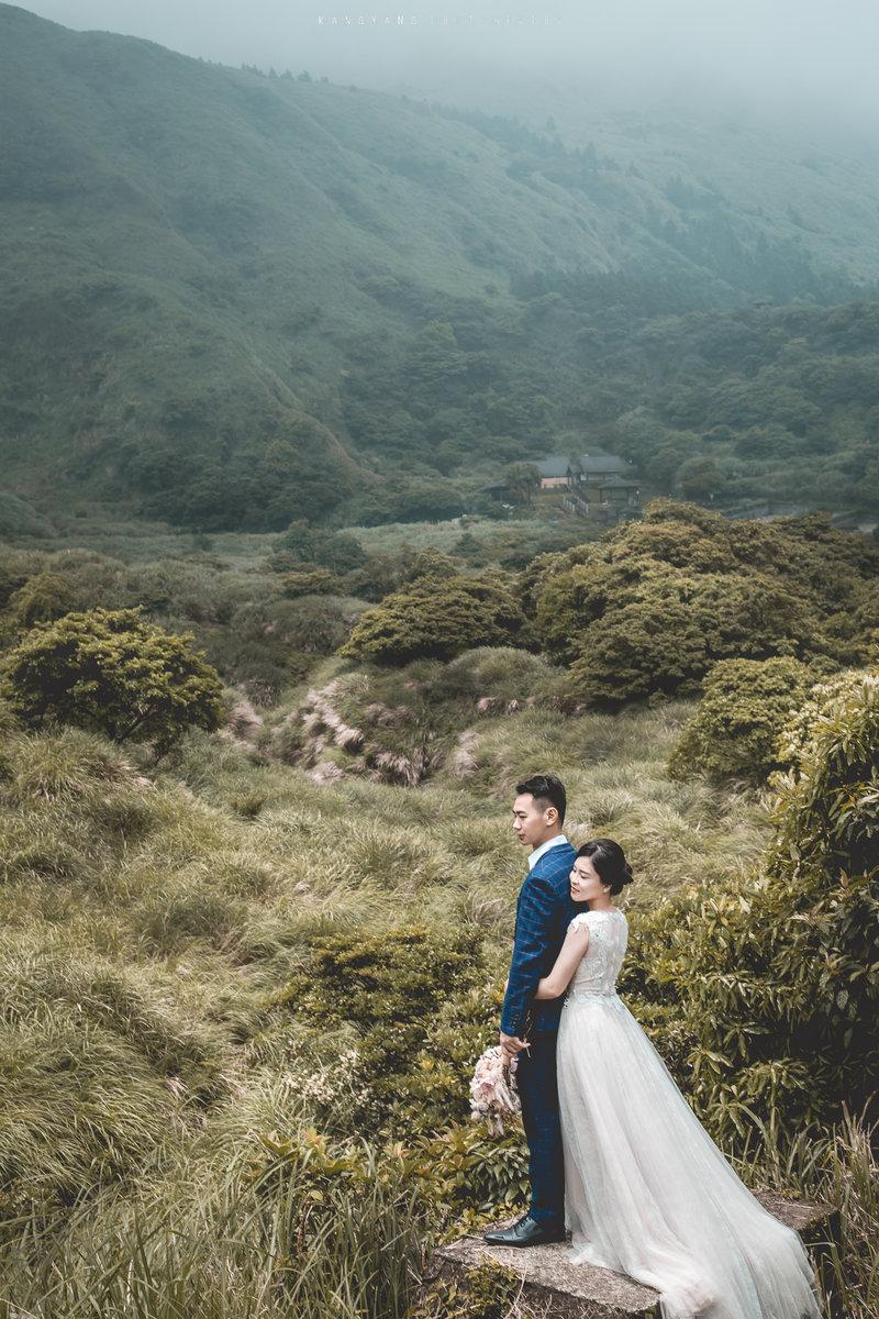 自助婚紗純拍攝方案作品