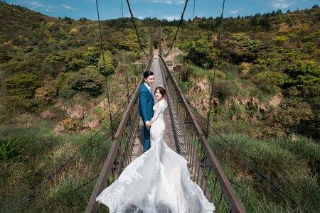 T&W 自助婚紗包套攝影@台北擎天岡