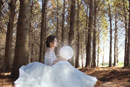 仙氣婚紗造型外拍
