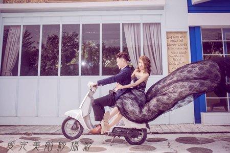 【2020年精選】清新&俏麗&自助婚紗-愛完美主題婚紗攝影