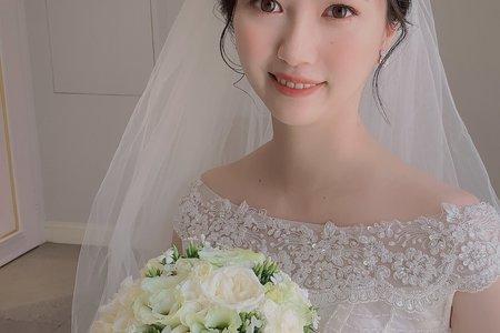 當天新娘妝髮