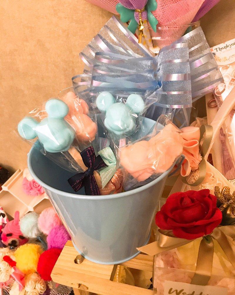 【振興方案】米奇米妮造型香皂匙/袋作品