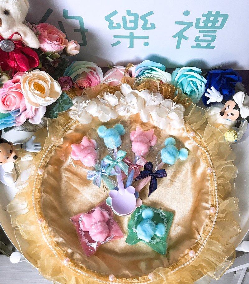 【振興方案】米奇米妮造型香皂匙/袋 - 伯樂禮 Exclusive Giftes《結婚吧》