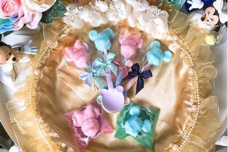 【振興方案】米奇米妮造型香皂匙/袋