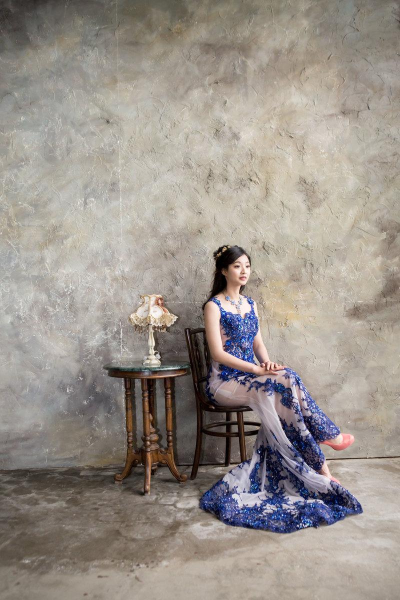 西式婚紗禮服租借(白紗晚禮媽媽服花童服)作品