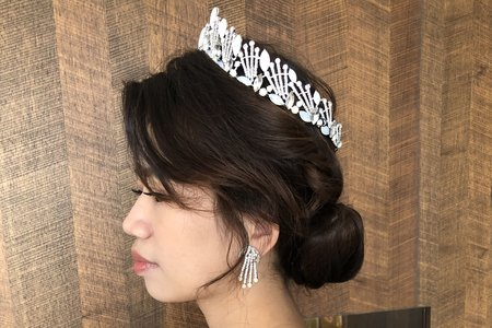 【Chiao楚喬】歐美線條感低盤髮