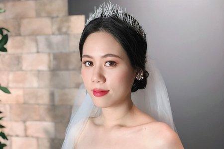 【Chiao楚喬】韓式簡約低盤髮