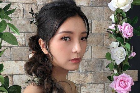 【Chiao楚喬】美式花草系辮子