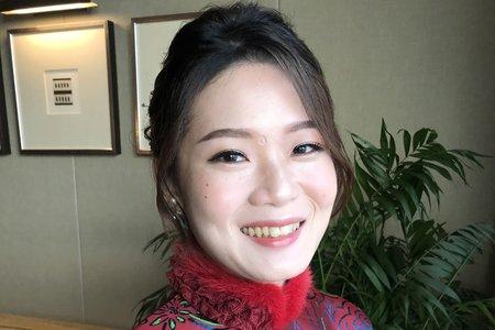 【Chiao楚喬】氣質文定中盤髮