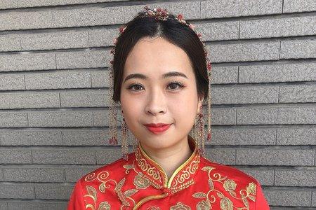 【Chiao楚喬】中式|復古|文定造型