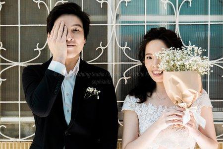 浪漫存在每個日子|白色狂熱X蘇菲雅婚紗攝影|WF05