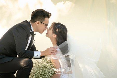 給愛情繫上陽光|蘇菲雅婚紗攝影|A61