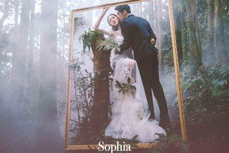 柳煙花霧|蘇菲雅婚紗攝影|B16