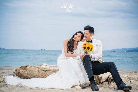 向日葵心事 | 蘇菲雅婚紗攝影|A60