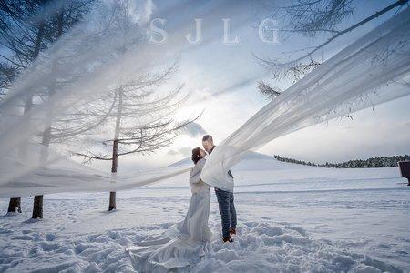日本北海道海外婚紗攝影-莫埃來沼公園-美式、韓系、日系、清新、時尚、個性、中式精選婚紗風格-日本北海道札幌市|莫埃來沼公園