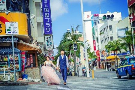 日本海外婚紗-沖繩-美式、韓系、日系、清新、時尚、個性、中式精選婚紗風格-沖繩海外婚紗-國際通