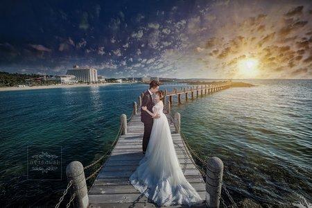 海外婚紗-日本沖繩-聖瑪麗娜海濱飯店-美式、韓系、日系、清新、時尚、個性、中式精選婚紗風格-日本沖繩婚紗|喜來登聖瑪莉娜海濱飯店