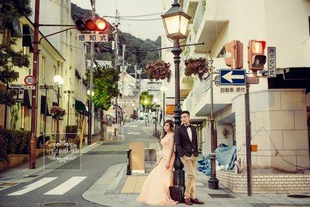 海外婚紗日本-美式、韓系、日系、清新、時尚、個性、中式精選婚紗風格-日本京都海外婚紗-神戶港+MOSAIC馬賽克廣場+北野町山本通異人館
