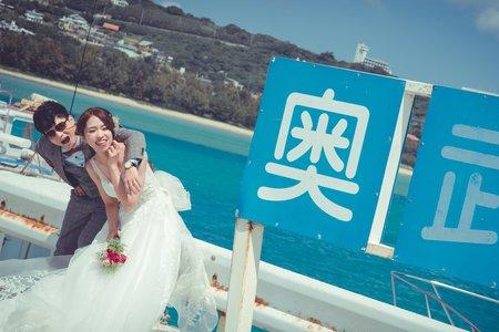 日本海外婚紗-沖繩-美式、韓系、日系、清新、時尚、個性、中式精選婚紗風格-日本沖繩自助婚紗|奧武島
