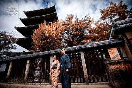 日本京都婚紗-高台寺,八阪神社,法觀寺八坂塔-美式、韓系、日系、清新、時尚、個性、中式精選婚紗風格
