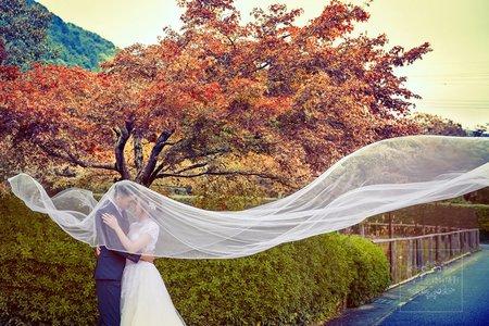 日本京都嵐山-拍婚紗-美式、韓系、日系、清新、時尚、個性、中式精選婚紗風格