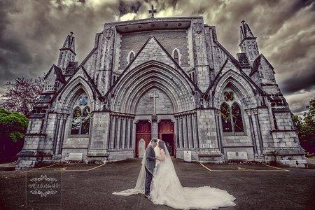 紐西蘭基督教會座堂拍婚紗-美式、韓系、日系、清新、時尚、個性、中式精選婚紗風格