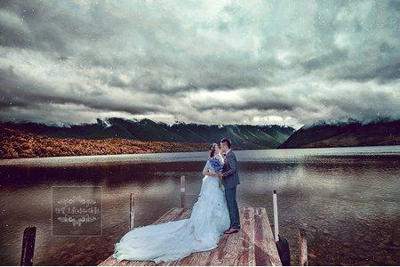 紐西蘭海外婚紗-尼爾森湖國家公園-美式、韓系、日系、清新、時尚、個性、中式精選婚紗風格