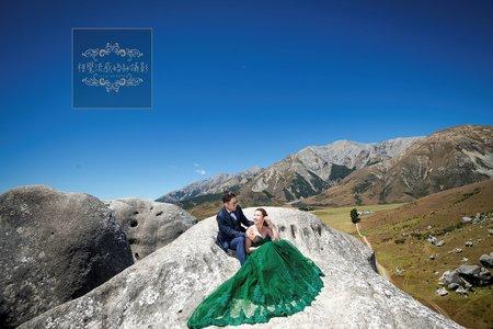 美式大氣時尚精選婚紗風格-紐西蘭拍婚紗-魔戒與納尼亞拍攝地