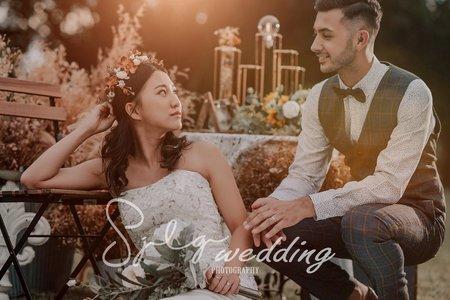 視覺流感|美式時尚 │ 個性街拍 - 精選婚紗風格