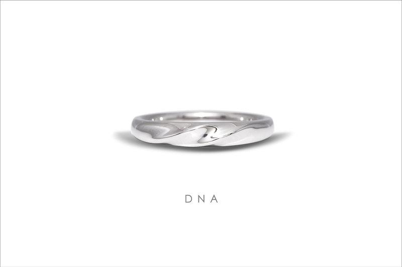 經典男女對戒 DNA