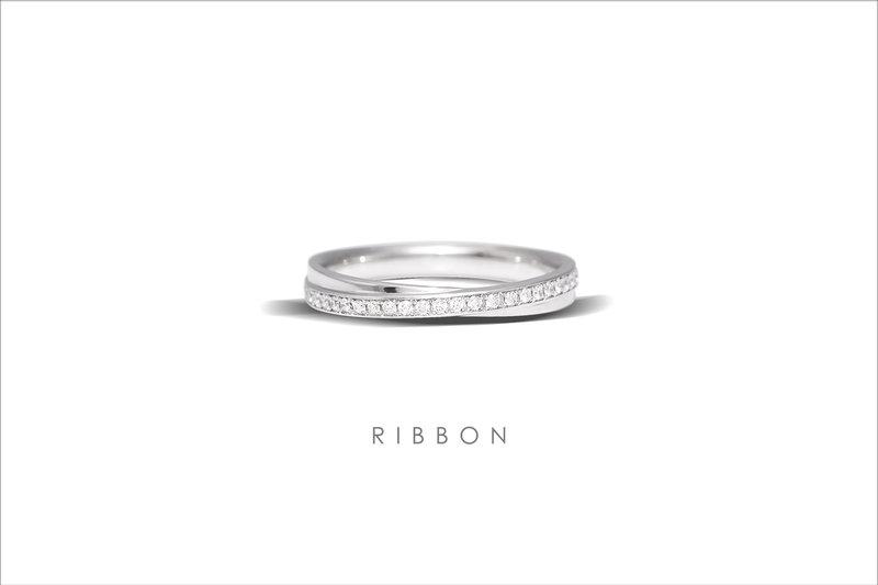 經典男女對戒 RIBBON