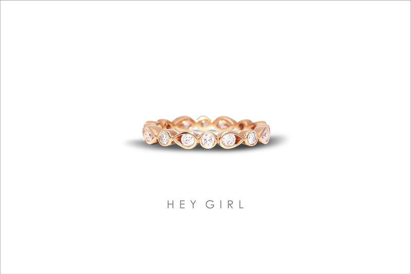 經典男女對戒|HEY GIRL