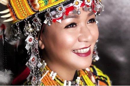 原住民妝髮設計