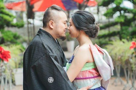 Momoko和洋式婚紗與婚禮