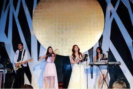 4人組婚禮樂團