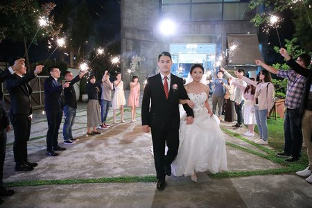 浪漫戶外婚禮