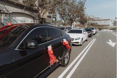 全台結婚禮車 創意套組 黑白熊貓 3台