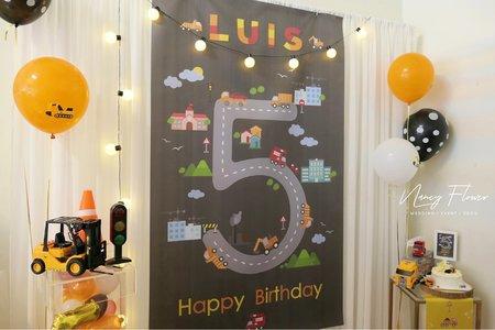 Party / 工程車迷5歲生日派對