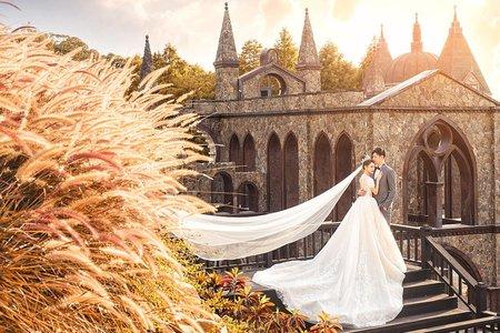 台灣婚紗-苗栗愛麗絲的天空攝影基地
