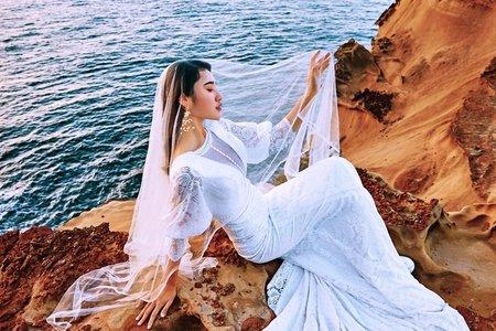 海岸婚紗 | 南雅奇岩 | 士林婚紗工作室