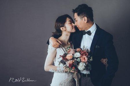 素背景韓風婚紗精選