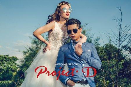 美式風格 創意婚紗