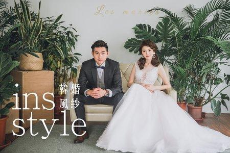 ins韓風婚紗