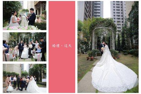 台中僑園戶外花園證婚