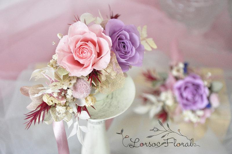 新娘手腕花 伴娘手腕花 手腕花 婚禮作品