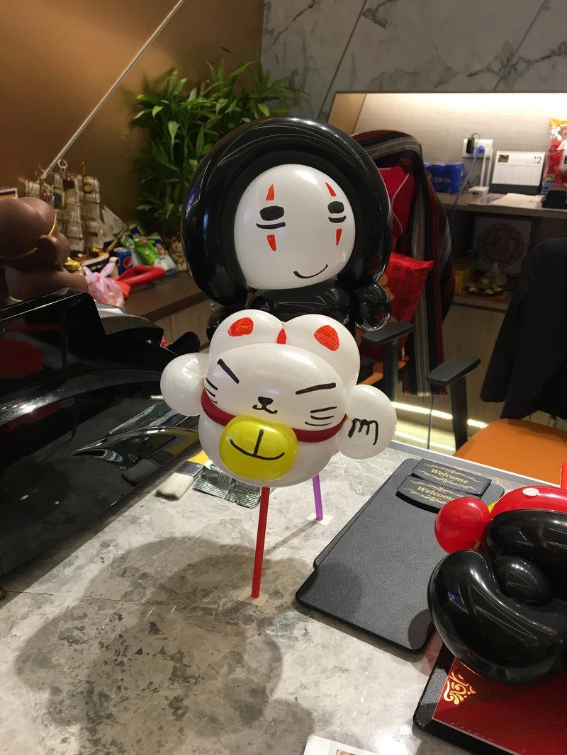 氣球婚禮小物作品