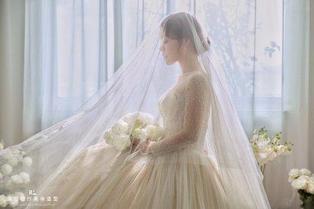 新娘白紗造型
