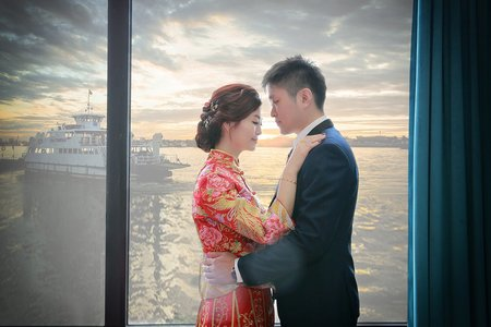 香蕉碼頭海景宴會館-訂婚婚禮紀錄