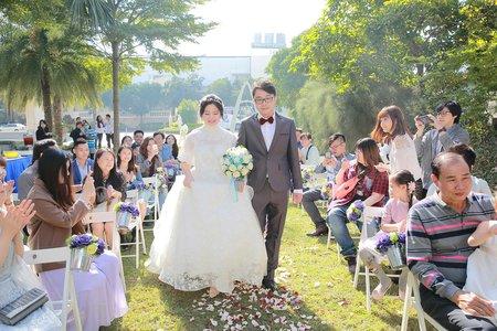 台南商務會館-戶外證婚迎娶婚禮紀錄